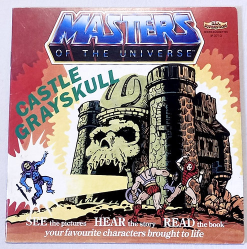 He-Man And The Masters Of The Universe Castle Grayskull See Hear Read Book 1983