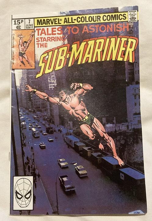 Marvel Tales To Astonish Sub-Mariner #7 June 1979