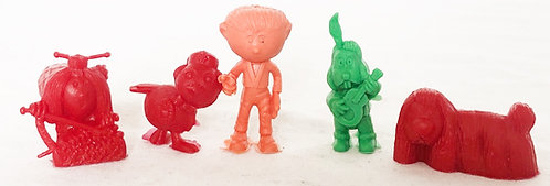 Kelloggs Cereal The Magic Roundabout Figure Set