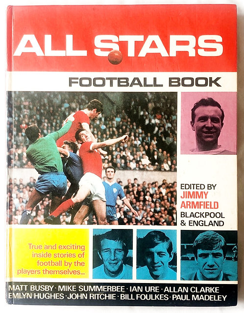 All Stars Football Book 1968