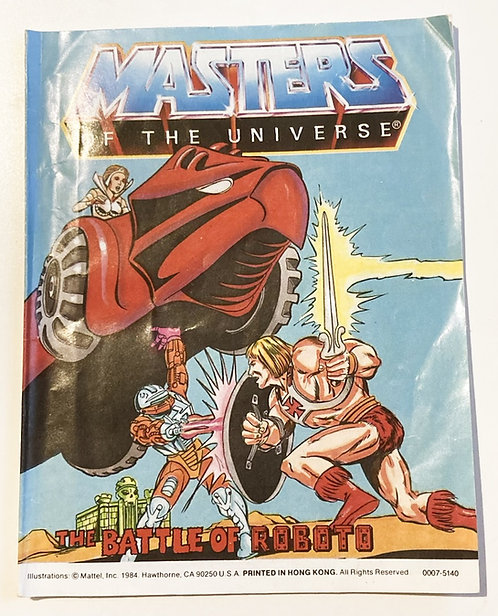 He-Man And The Masters Of The Universe The Battle Of Robots