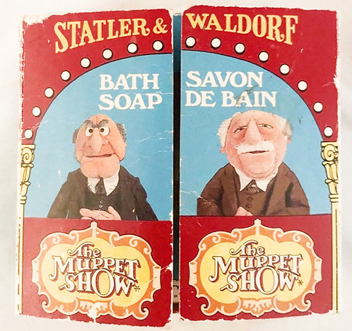 The Muppet Show Statler And Waldorf Bath Soap