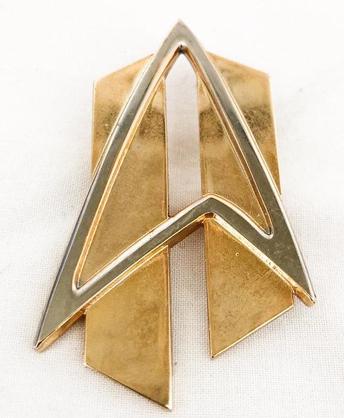 Star Trek Metal Pin Badge 1994