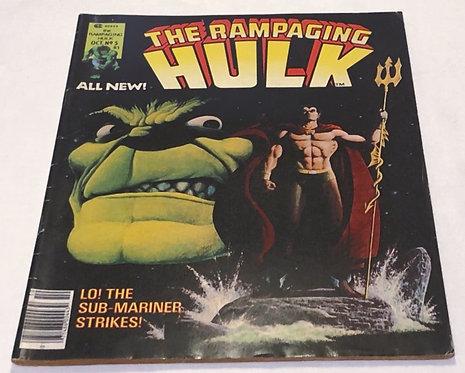 The Rampaging Hulk Comic #05 1977