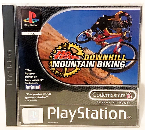 No Fear Downhill Mountain Biking PlayStation Game U.K. (PAL)