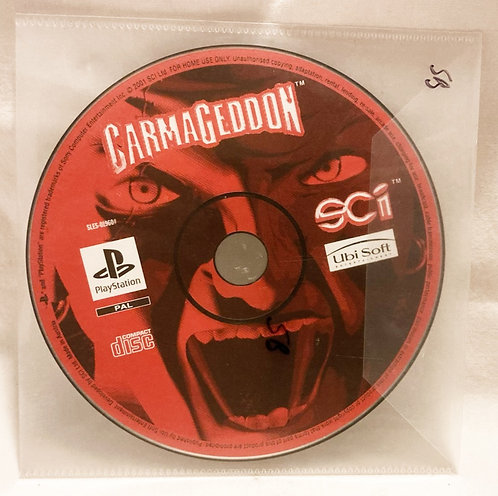 Sony Playstation Carmagedon Disc Only PAL