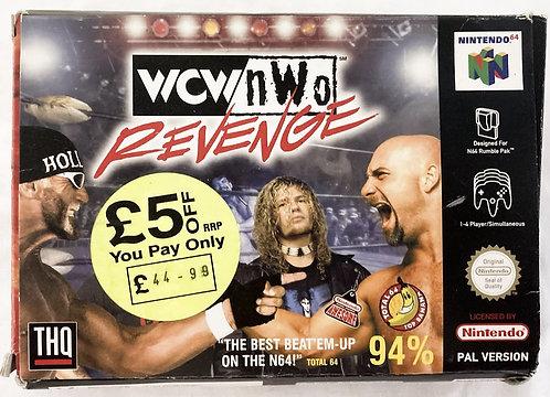 Nintendo N64 WCW NWO Revenge (PAL) 1998