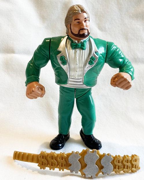 WWF  Million Dollar Man (Green Tux) Hasbro 1991