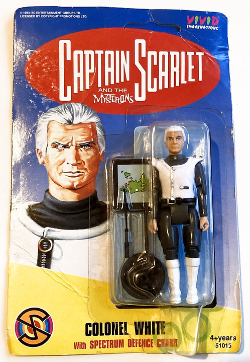 Captain Scarlett And The Mysterons Colonel White Vivid