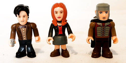Doctor Who Character Building Micro Figure Amy Rory (Roman) And Doctor Set