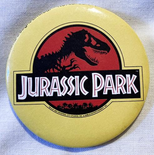 Jurassic Park 2'' Badge 1992