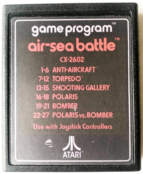Air-Sea Battle Atari 2600 U.K. (PAL)
