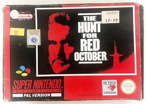 The Hunt For Red October Super Nintendo SNES U.K. (PAL)