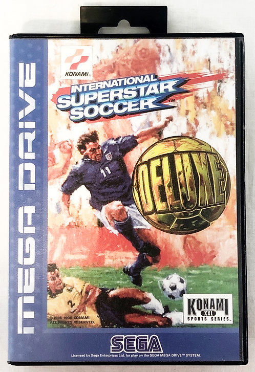 International Superstar Soccer Sega Megadrive U.K. (PAL)