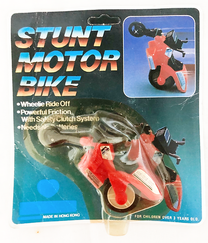Vintage Stunt Motor Bike Hong Kong