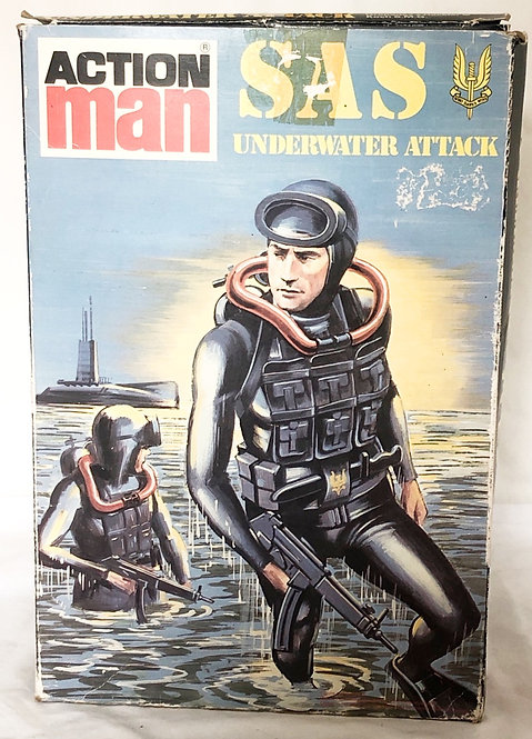 Action Man SAS Underwater Attack Palitoy
