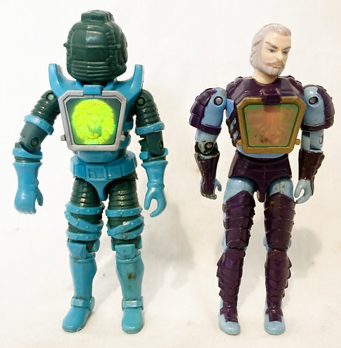 Visionaries Darkstorm And Mortdred Hasbro 1987