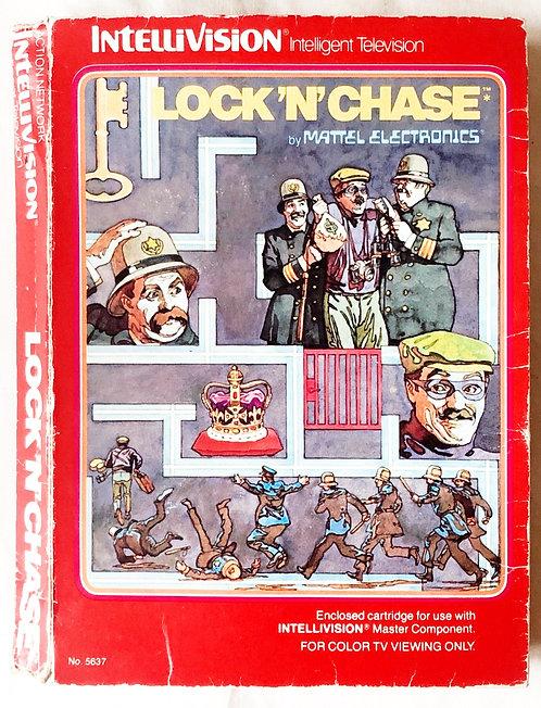 Lock'N'Chase Intellivision Intelligent Television U.K. (PAL)