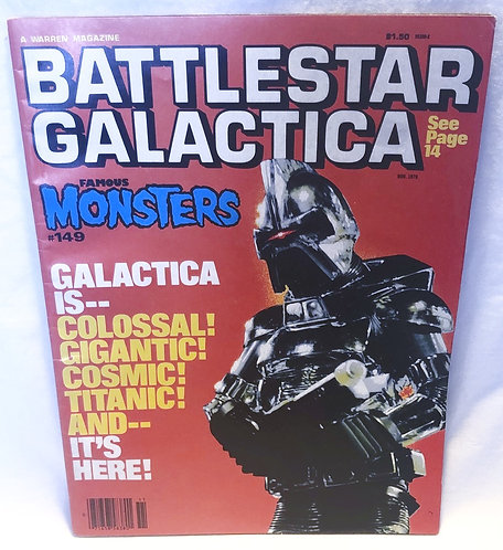 Famous Monsters Battlestar Galactica Magazine