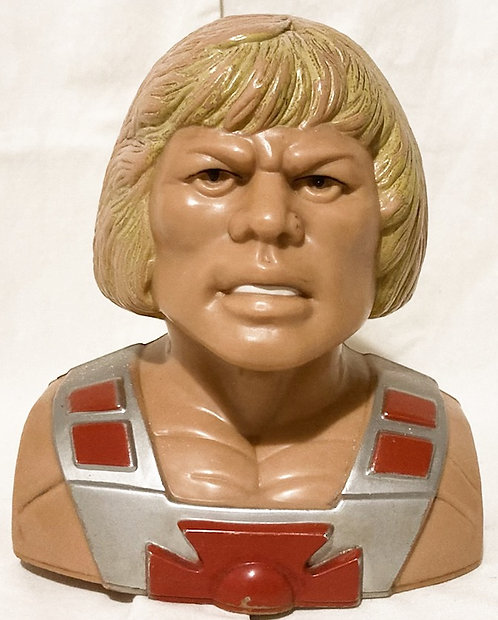 He-Man And The Masters Of The Universe He-Man Bust Money Box Hong Kong 1