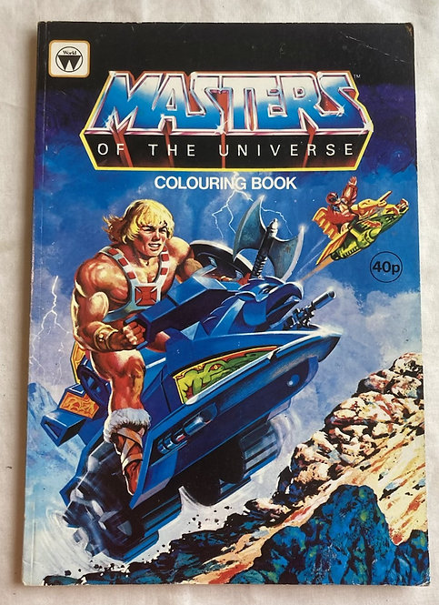 He-Man And The Masters Of The Universe Colouring Book 1984