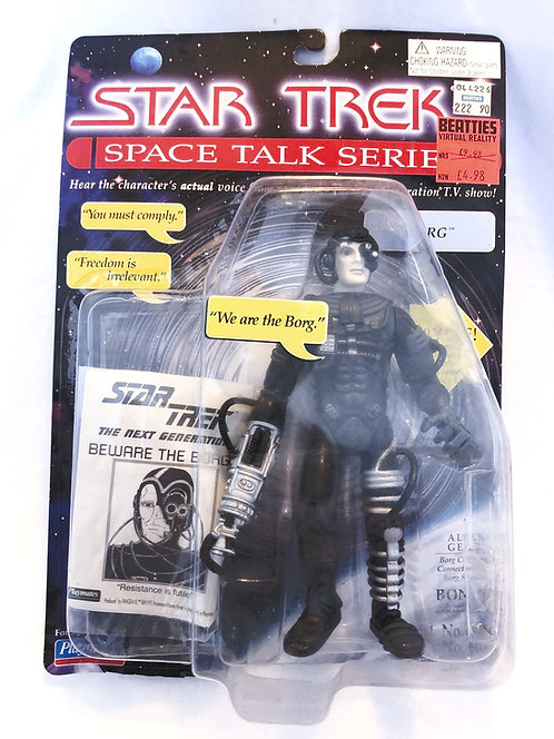 Star Trek The Space Talk Seriss Borg