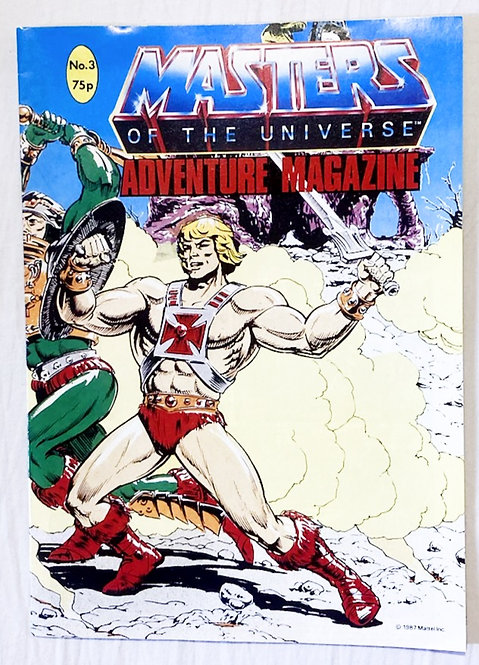 He-Man And The Masters Of The Universe Adventure Magazine No. 3  1987