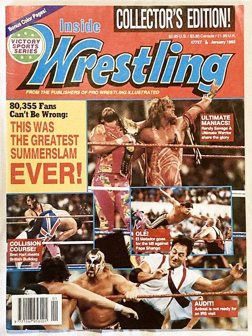 Inside wrestlingJan 1993