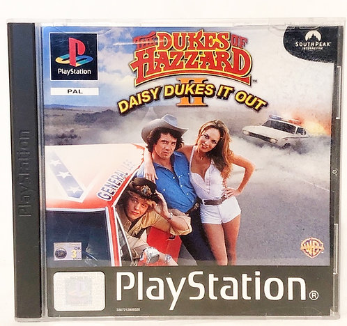 The Dukes Of Hazard Daisy Dukes It Out 2 PlayStation Game U.K. (PAL