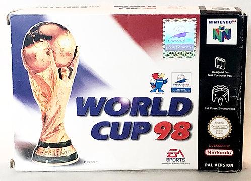 World Cup 98' Nintendo 64 Game U.K. (PAL)