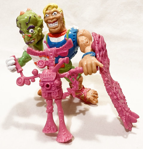 Toxic Crusaders Headbanger Playmate 1991