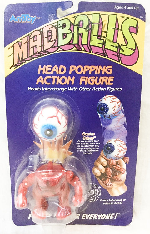 Mad Ball Head Popping Oculus Orbus Amtoy