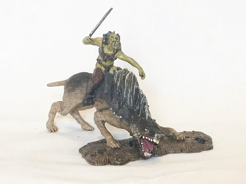 Lord of the Rings Mounted Orc Mini Figure
