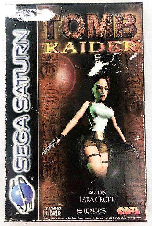 Tomb Raider Sega Saturn U.K. (PAL)
