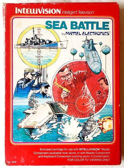 Sea Battle Intellivision Intelligent Television U.K. (PAL)