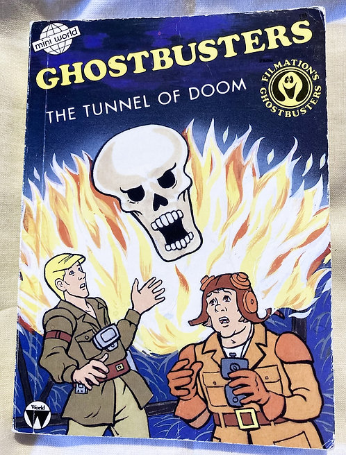Filmation's Ghostbusters The Tunnel Of Doom Book 1986