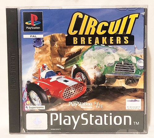 Circuit Breakers PlayStation Game U.K. (PAL)
