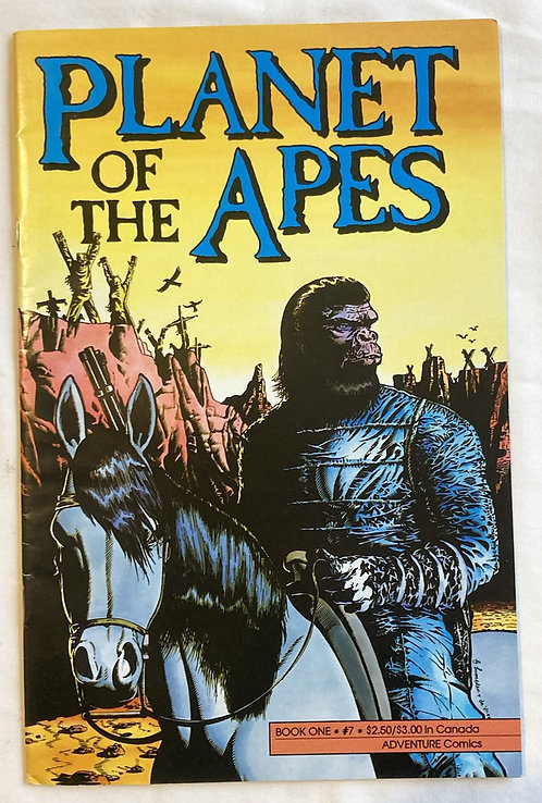 Planet Of The Apes No 7 Adventure Comics 1990