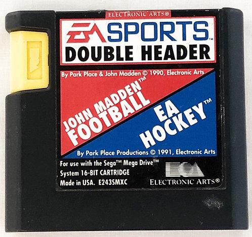 EA SportsJohn Madden And EA Hockey Sega Megadrive U.K. (PAL)