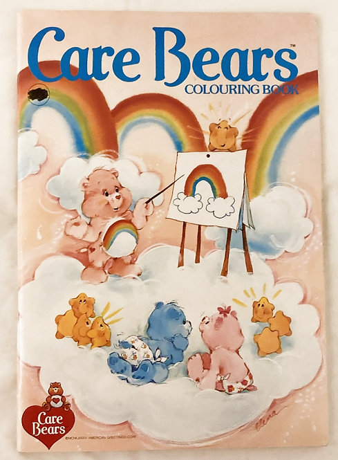 Care Bears Colouring Book American Greetings 1984