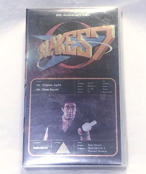 Blakes 7 VHS