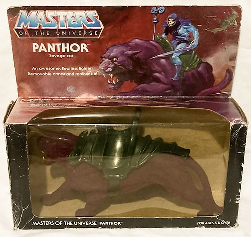 He-Man And The Masters Of The Universe Panthor 8 Back B Mattel 1982