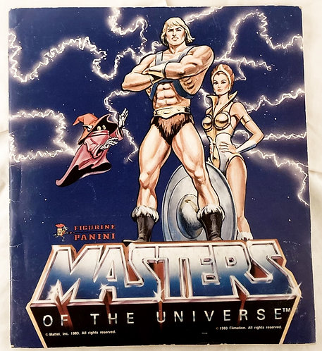 He-Man Masters Of The Universe Sticker Book Complete Panini 1983