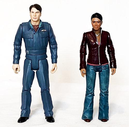 Doctor Who Captain Jake And Martha Set