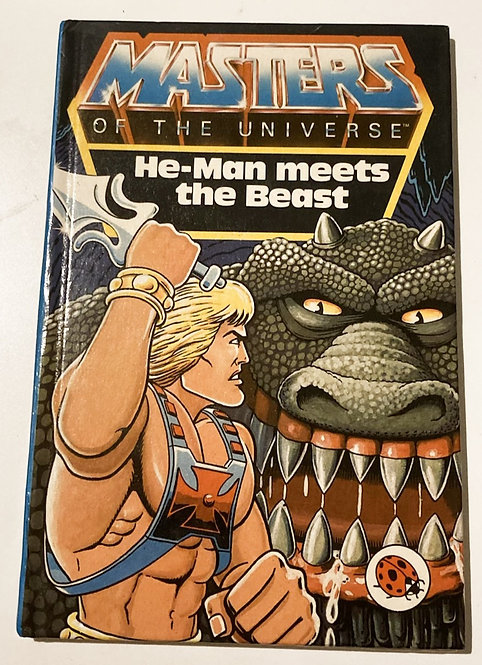 He-Man And The Masters Of The Universe He-Man Meets The Beast Book Ladybird
