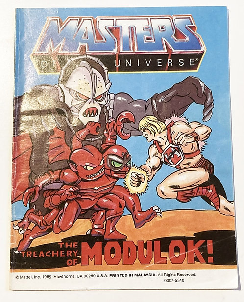 He-Man And The Masters Of The Universe The Universe The Treachery Of Modulok