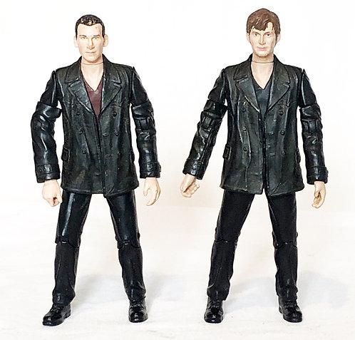 Doctor Who Ninth Tenth Doctor Regeneration Set