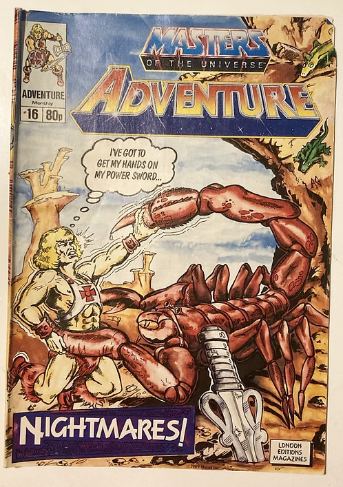 He-Man And The Masters Of The Universe Adventure Monthly #16 June 1989