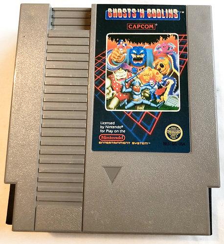 Ghosts 'N Goblins Nintendo NES U.S.A (NTSC) 1985