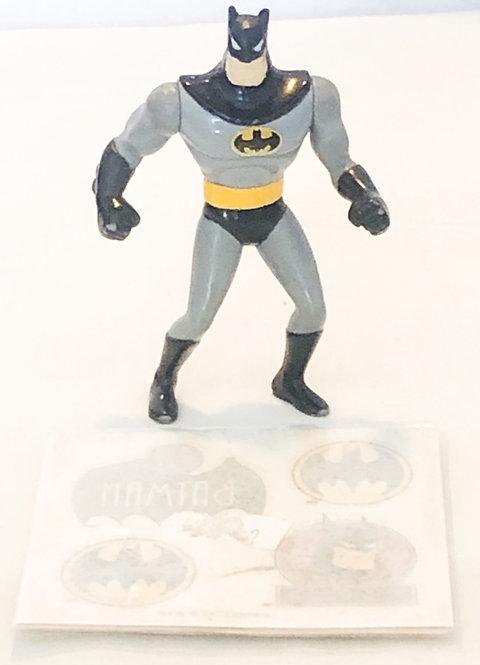 Batman The Animated Adventures Figure And Tattoo Set Kenner 1991